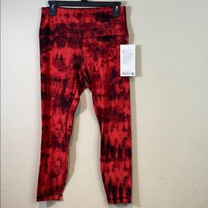 """Lululemon Align Pant 25"""" Cool Game Day"""